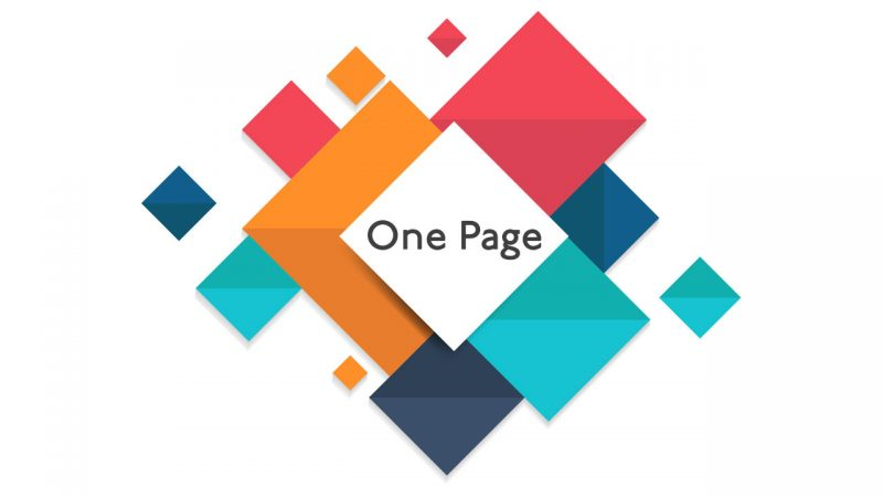 web-one-page