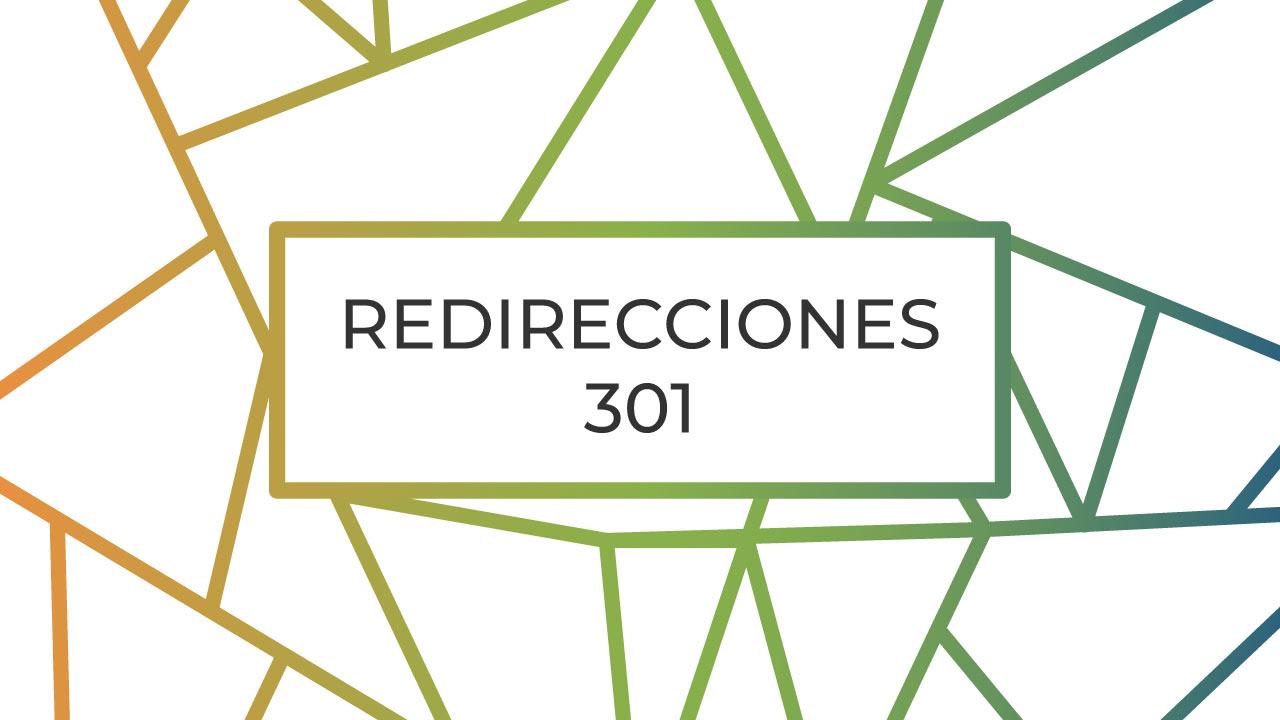 como hacer una redireccion 301