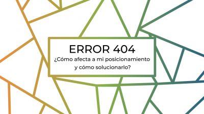 el error 404