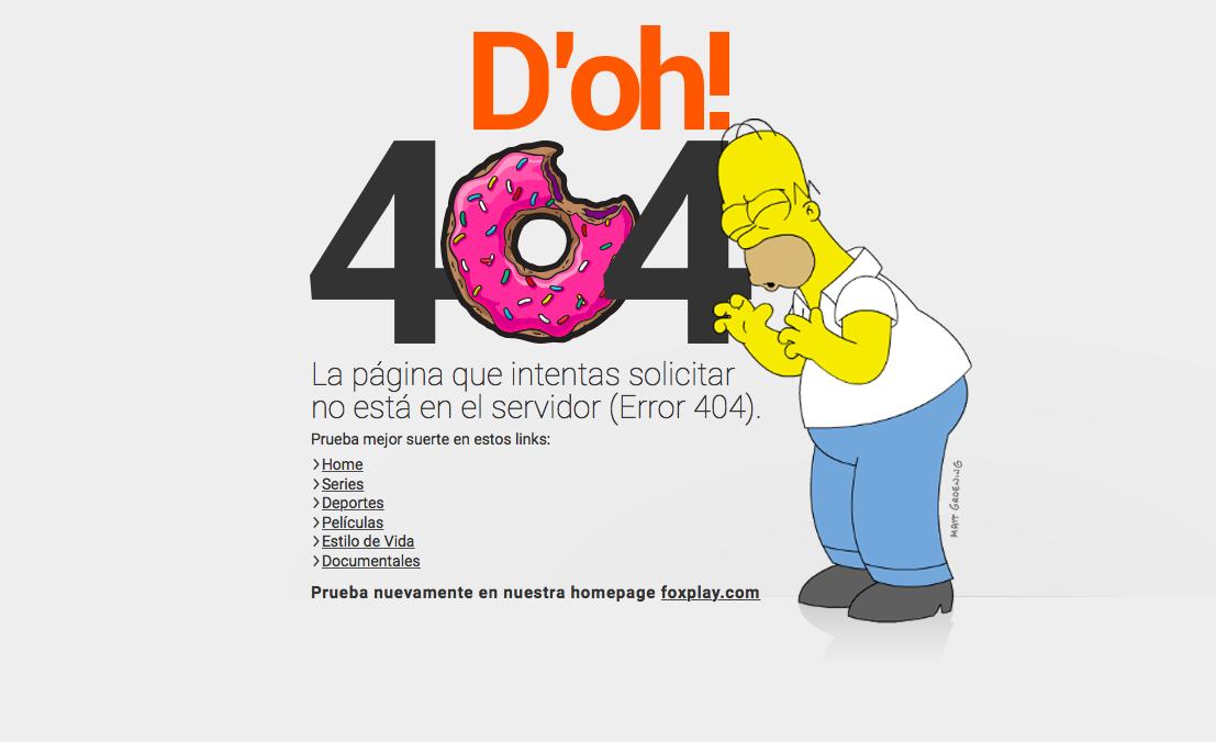 pagina con error 404