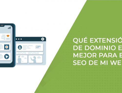 Qué extensión de dominio es mejor para el SEO de mi web