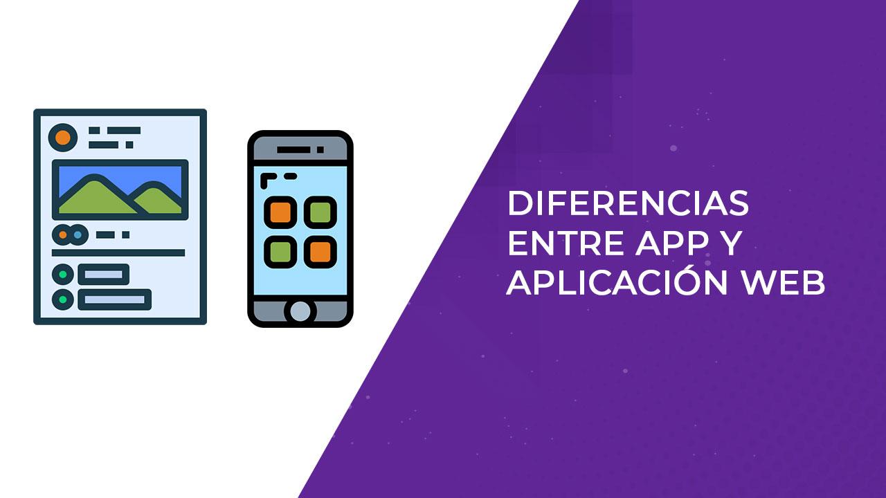 portada diferencias entre app y aplicacion web