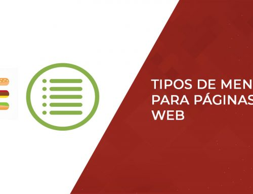Tipos de menú para páginas web